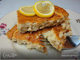 Рыбный воздушный пирог по-милански