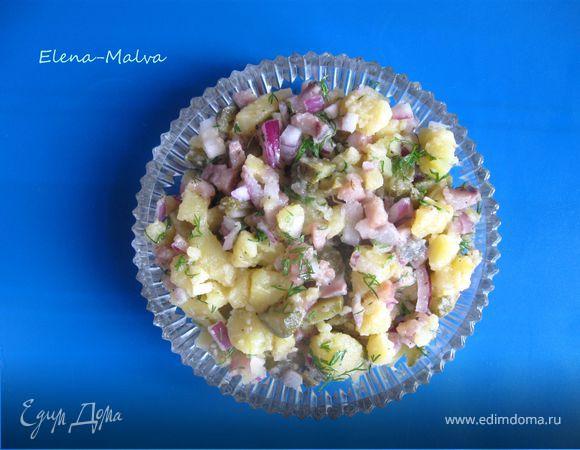 Салат с селедкой рецепт едим дома