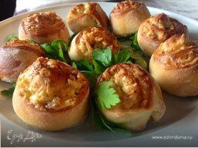 Сырные булочки с базиликом