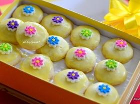 Печенье весеннее под глазурью