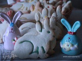 """Печенье """"Пасхальный кролик"""""""