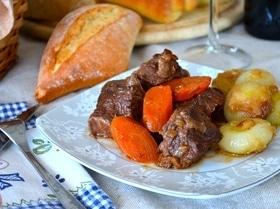 Бёф бургиньон (bœuf bourguignon)