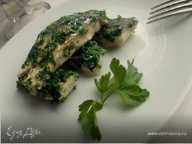 Рыба в зелени за 5 минут
