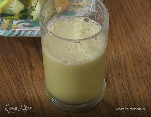 Яблочный сок с имбирем и сельдереем