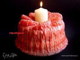 """Блинный торт """"Свеча"""""""