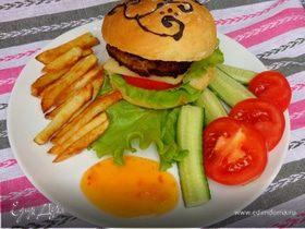 Домашние расписные гамбургеры по-русски