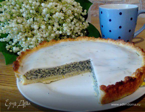 Маково-лимонный пай (Lemon poppy seed pie)