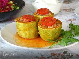 Фаршированные кабачки по рецепту турецкой свекрови (kabak dolması)