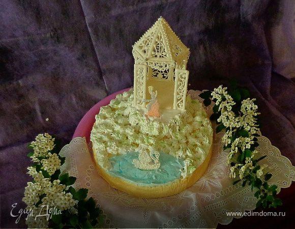 """Торт 3D """"Девичьи грёзы"""""""