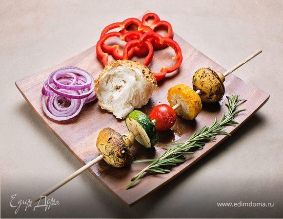 Рецепт шашлыка из овощей или замашка на вегетарианскую кухню
