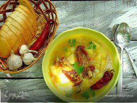 Пряный гороховый суп