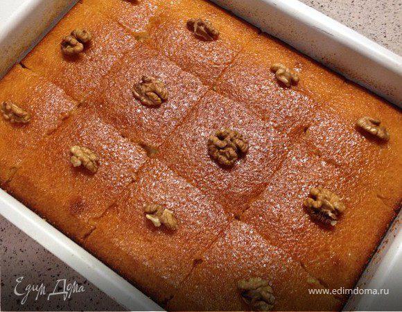 Ревани-пирог из манки
