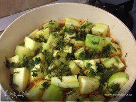 Блюдо из кабачков (Kabak Yemeği)