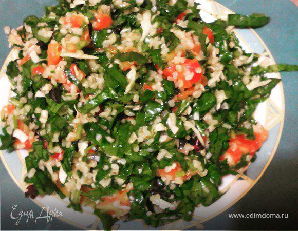 Легкий салат в марокканском стиле