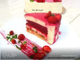 Торт «Клубника и базилик»
