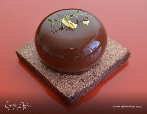 Пирожное «Шоколад-тимьян»