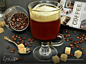 Коктейль Ирландский кофе (Irish Coffee)
