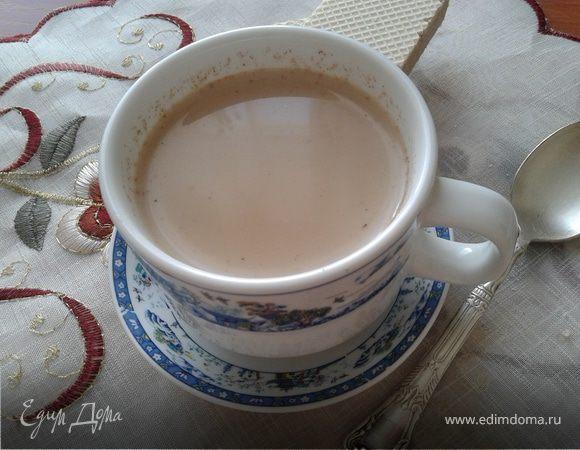 """Кофе с молоком """"Корица-имбирь"""""""