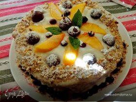 """Фруктовый десерт """"Арбузный торт"""""""