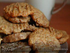 Мягкое овсяно-арахисовое печенье