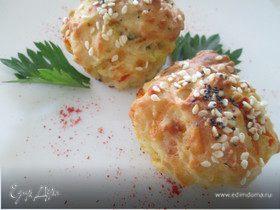 Огуречные булочки-кексы