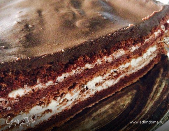 Шоколадный торт без муки (диетический)