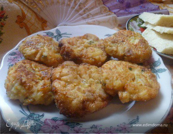 Картофельно-баклажановые котлеты