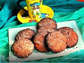Печенье шоколадное с пряностями