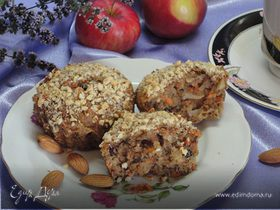Морковно-яблочные мафины