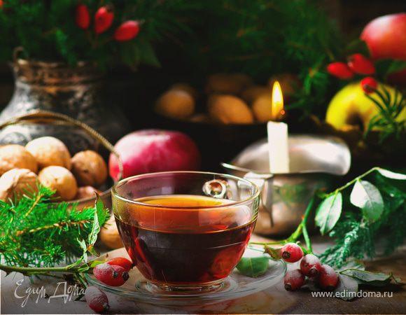 Чай из крапивы и шиповника