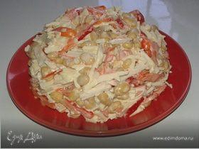 Сытный салат для полдника