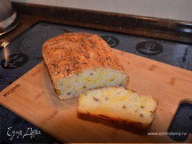 Оливковый хлеб с тыквой и семечками