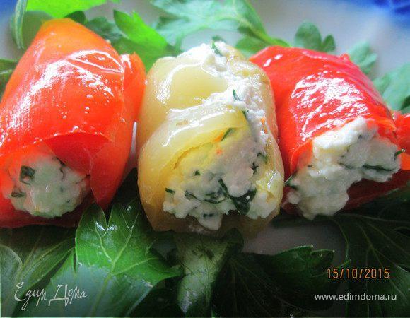 Запеченные перцы по-средиземноморски