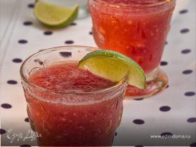 Арбузный напиток с лаймом