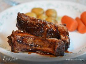 Свиные ребрышки в чили соусе