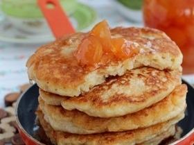 Пшенные оладьи на завтрак