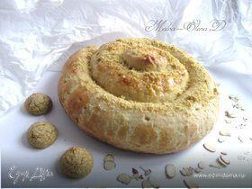 Лимонная улитка с миндалем (Chiocciola al limone con farcia alle mandorle)
