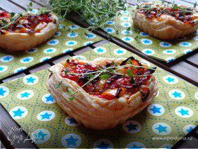 Мини-тарты со сладким перцем