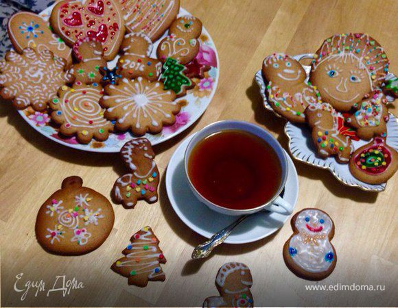 Имбирно-медовое печенье
