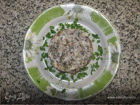 """Салат из морской капусты """"Изумительный"""""""