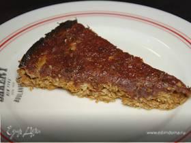 Сладкий цельнозерновой пирог с финиками