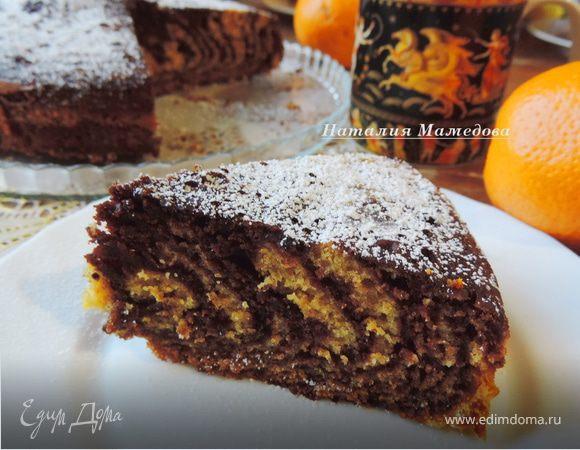 Шоколадно-тыквенный пирог