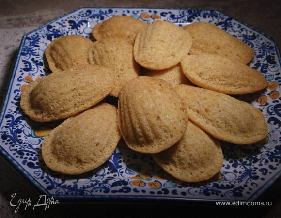 Цитрусовое печенье «Мадлен»
