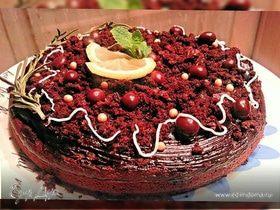 Cамый простой шоколадный пирог