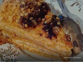 Томатный торт «Медовик»