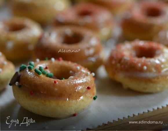 пончики на сковороде рецепт без дрожжи