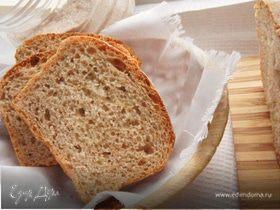 Цельнозерновой хлеб на сыворотке