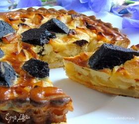 Тарт с яблоками и Boudin Noir