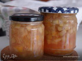 Рецепт варенья из ревеня на зиму