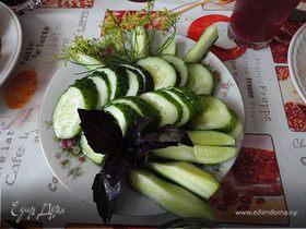 Малосольные огурцы (экспресс-рецепт)